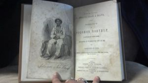 12 Years A Slave Book open page